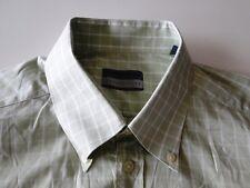 Seidensticker SEVENTYFIVE Camicia Manica Lunga Verde a Quadri kw42 TOP!