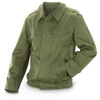 """NEW Genuine Hungarian 44""""-46"""" Army surplus Jacket Warsaw Pact Bomber Olive green"""