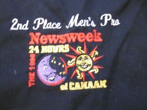 Mountain Bike Mechanic Apron Award 2nd Place Men Pro Newsweek 24 Hrs Canaan 1996