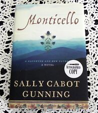 Monticello by Sally Cabot Gunning Signed Stated 1st Edition - Thomas Jefferson