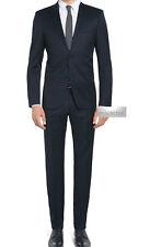 Vestito Uomo blu Elegante Slim Fit Abito Da cerimonia Sartoriale 44 46 48 50 52