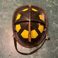 Bullard Traditional Fire Helmet Matte Black Manufacturered In 2016