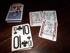 Low Vision Playing Cards MINT CONDITION 3 JOKERS