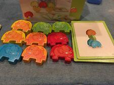 HABA Stacking Game Wigglefants Elephants Building for Children Toy Motor Skills
