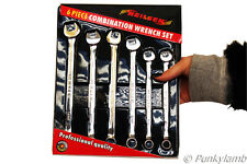 Metric Combination Spanner Set Combi Wrench 10mm 12mm 13mm 14mm Long Reach Tool