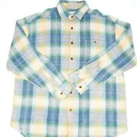 Tweed River Traditional Classic Long Sleeve Mens Shirt Size XL Pastel