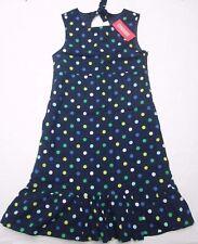 ❤ GYMBOREE polka dot dress size 12 New$34.75 navy cotton seersucker NWT FREESHIP
