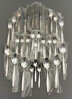 BSF Dänisch Perl Tafelbesteck Menuebesteck 6 / 12 Pers. 800er Silber OVP (58)