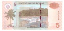 Surinam 5 Dollars NEu