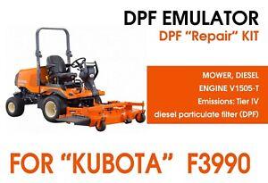 """DPF repair kit for """"Kubota"""" mower F3990"""