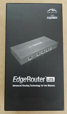 Ubiquiti EdgeRouter Lite ERLite-3 3x Gigabit LAN Ports, Edgemax, New Open Box