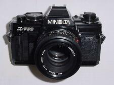 Minolta X-700 MPS 35mm SLR Film Camera with Minolta 50mm F/1.7 MD Lens ** Ex+++