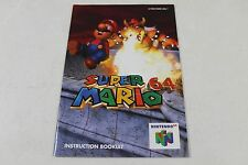 Super Mario 64  - Original Nintendo 64 Manual