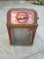 Rare 1940's Vintage Buckley Music Box Jukebox - Table Top – 5 Cent Diner Booth
