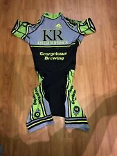 Voler Cycling Skin Suit Keller Rohrback Mens XS Short Sleeve Pocket