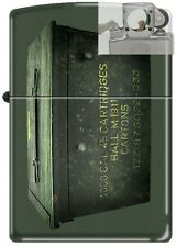 Zippo 221 Ammo Crate Can Lighter with PIPE INSERT PL