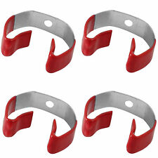 4pc Clip Grip Handle Holders Storage Hanging Hooks Utility Tools Shed Garage