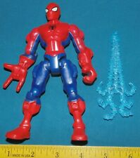 Marvel Hero Mashers Spider Man Figure w/ web parts pieces