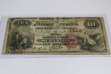 1882 THIRD NATIONAL BANK OF SCRANTON NATIONAL NOTE CHARTER 1946