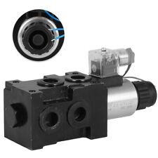 1-Spool Hydraulic 6 port Solenoid Diverter/ Selector Valve 12V 13gpm HSV6-C