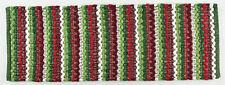 Wintergreen Navidad de rayas Chindi algodón Camino de MESA 137cml