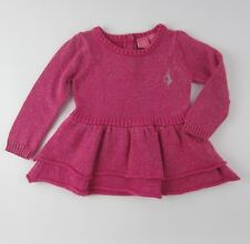 Baby Phat Pink/Silver Size 24 months Sparkle Tunic Sweater Dress