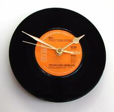 """Star Wars Theme Vinyl Record CLOCK a recycled 7"""" single Cantina Band by Meco"""