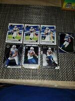 2020 Mosaic Football Michael Pittman Jr #214 Rated Rookie Canvas 7 Card Lot