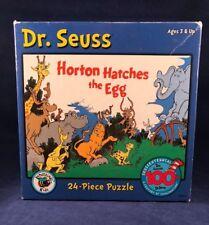 Dr. Seuss Horton Hatches the Egg 24 Piece Puzzle Elephant 100th Ted Geisel