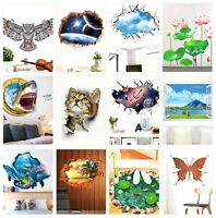 Wall Art Stickers Decor Mural Home Living Room Nursery Kids Removable Decals DIY