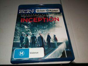 INCEPTION BLU-RAY DVD 2010 DOUBLE PLAY DVD (2 CDS)LEONARDO DICAPRIO 932533611226