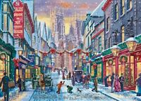 NEW! Falcon de luxe Christmas in York 1000 piece festive jigsaw puzzle 11277