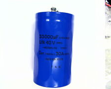 2 x DC Electrolytic Capacitors 33000uF 40V, High Surge, Power Supply, MIG Welder