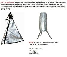 "Telescope Cover Set for 12"" - 14"" SCT on a ALT-AZ Mount set up (2 covers)"