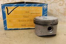 NOS KOLBEN SIMCA 350 1000 1100 SPECIAL LS GL GLS 1968-69 74.60mm 4 PISTONS SET