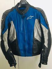 Leather Jacket Motorbike Alpinestars Like New & Dainese Protector