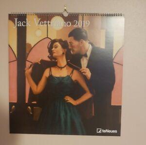 Jack Vettriano 2019 Calendar, Deluxe Large.
