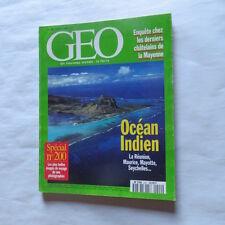 GEO : Océan indien : La réunion, Maurice, Mayotte, Seychelles, … - octobre 1995