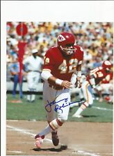 Johnny Robinson Autographed Kansas City Chiefs 8X10 Photo with COA