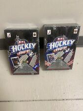Set Of 2 1990-91 Upper Deck NHL Hockey Cards Factory Sealed