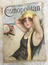 Cosmopolitan Magazine August 1917 #375 Full Issue Harrison Fisher #135 Cover