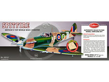 GUILLOWS BALSA RUBBER POWERED MODEL KIT SPITFIRE GI0403