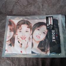 """TWICE MOMO SANA TZUYU Slogan PHOTO Towel KPOP Star TWICE  K-POP  (39.3"""" x 7.8"""")"""
