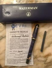 Waterman Phileas Blue Blau Füller Pen