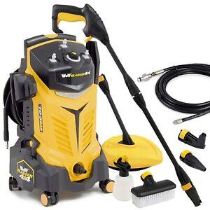 Wolf Blaster 4x4 Pro Electric Pressure Washer 165BAR 2393PSI Power Jet Sprayer