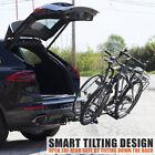 BV 2-Bike Rack Hitch Mount Carrier for Car SUV Tray Style Smart Tilting Design