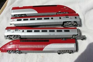 Mehano HO French SNCF Dutch NS 4-Piece HIGH SPEED THALYS 2 MULTIPLE UNIT