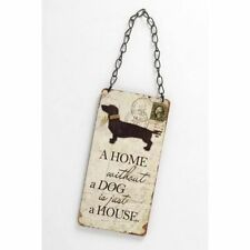 Wooden Dog Novelty Decorative Plaques & Signs