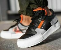 Nike Air Force 1 Low Type - Black / Hyper Crimson - Sizes 5-12UK CQ2344-001