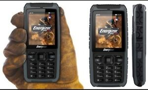 Energizer Energy 240 Phone Dual Sim, 3G, IP67 Rated - Shock, Dust & Water Proof